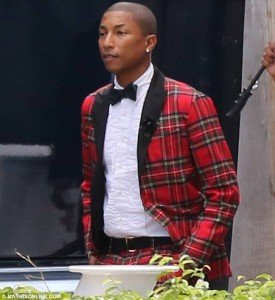Pharrell Married in Miami