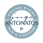 Sound Event DJ Photobooth & Lighting Logo